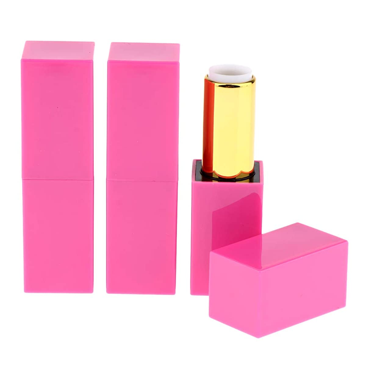 グリップ精神上下するP Prettyia 3個 12.1ミリメートル 空の口紅チューブ リップクリーム 固体香水 化粧品 化粧チューブ