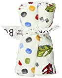 Trend Lab Set of 4 Burp Cloth, Nascar (Discontinued by Manufacturer)