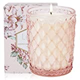 Scented Candles, Lilac Natural Soy Wax Candles, 19.4Oz Large Jar Candles for Home, 130 Hours Long Burning, Candle Gifts for Women