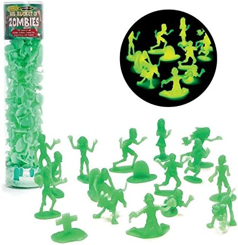 Max 61% OFF SCS Direct Zombie Action Figures -100 Glow quality assurance Dark Zombies The w in