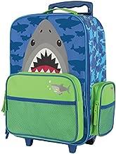 Stephen Joseph Boys Classic Rolling Luggage, Shark, One Size