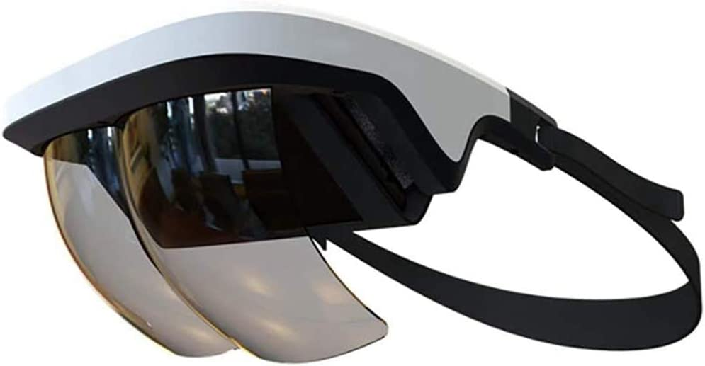 Lopbinte AR Headset, Smart AR Glasses 3D Video Augmented Reality VR Headset Glasses for & Android 3D Videos and Games