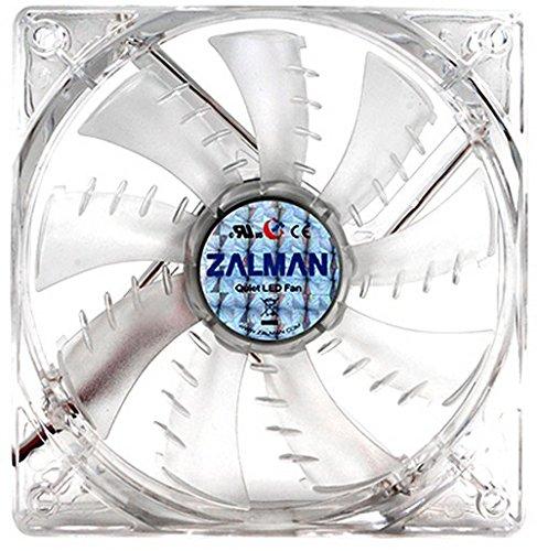 Zalman ZM-F3 - Ventilador led para Caja de Ordenador (3 Pines, 120 mm), Color Azul