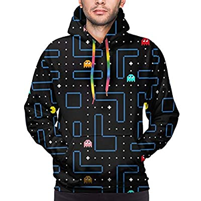 Pac-Man Maze Pull-Over Hoodie for Men