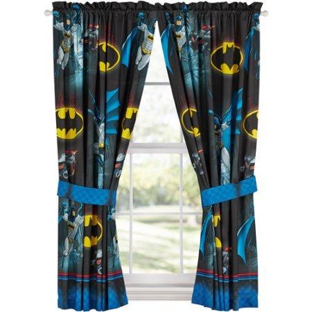 Batman 'Safe Again' Boys Bedroom Curtains