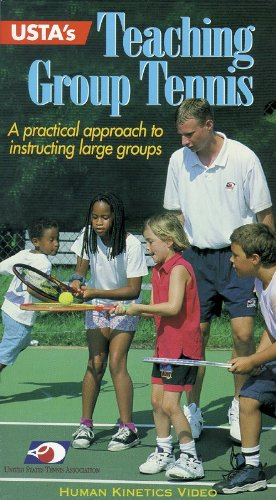Usta's Teaching Group Tennis: A Practical Approach to Instructing Large Groups (VHS Edition)