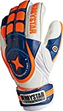 Derbystar Niños Towarthandschuhe Attack XP Protect Pro 2649 - White/Naranja/Blue, 4