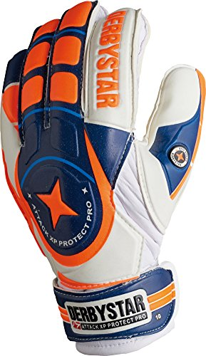 Derbystar Attack XP Protect Pro, 9, weiß navy orange, 2649090000