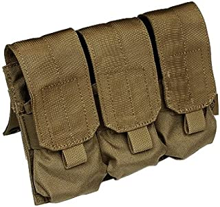 Flyye Triple Magazine Pouch MOLLE Coyote Brown