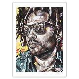 JosHoppenbrouwers Poster Lenny Kravitz, 50 x 70 cm,