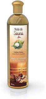 Camylle - Voile de Sauna Cèdre Litsea - Fragrances à base d'Huiles Essentielles 100% Pures et Naturelles pour Sauna - Stim...