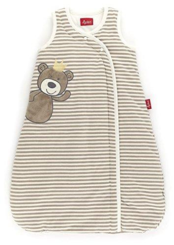 sigikid 145210 Sommer-Schlafsack beige Teddyprinz, New born