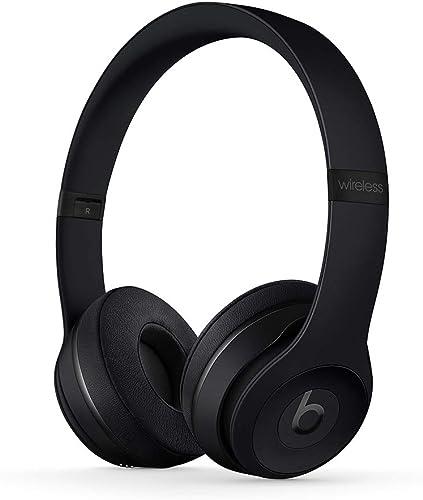 Casque Supra-auriculaire BeatsSolo3 sans Fil- Puce AppleW1 pour Casques et écouteurs, Bluetooth Classe1, 40Heure...
