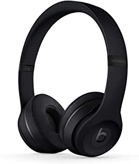 Beats Solo3 Wireless On-Ear Headphones - Apple W1 Headphone Chip, Class 1 Bluetooth, 40 Hours Of Listening Time - Black (L...