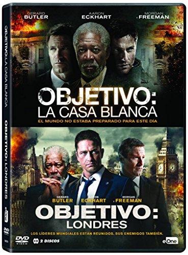 Pack Objetivo La Casa Blanca + Objetivo Londres [DVD]