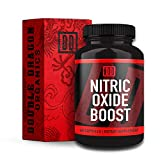 Nitric Oxide Booster Supplement - 1600mg Extra Strength L-Arginine, Citrulline Malate, and...