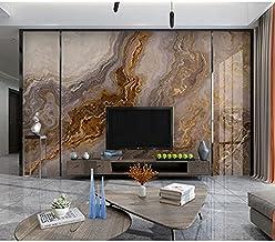 ورق جدران بتصميم بديل الرخام من طيف الجدران للغرف والمكاتب بتصميم عصري وانيق, ورق حائط ثلاثي الابعاد مطبوع بدقة عالية بمقا...
