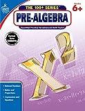 Carson Dellosa | Pre-Algebra Workbook | 6th–8th Grade, 128pgs (The 100+ Series™)