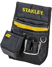 Stanley Heuptas/gereedschapsriem (33,2 x 23,5 x 7,5 cm, 600 denier nylon, met 2 nagelzakken, 1 hamerhouder en 1 meettasje, gemakkelijk toegankelijke vakken) 1-96-181.