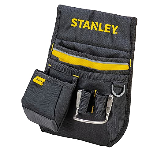 Stanley Gürteltasche / Werkzeuggürtel (33.2x23.5x7.5cm, 600 Denier Nylon, mit 2 Nageltaschen, 1...
