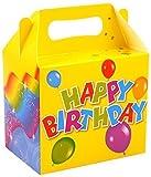 Scatole per merenda per feste di compleanno, 12 pezzi