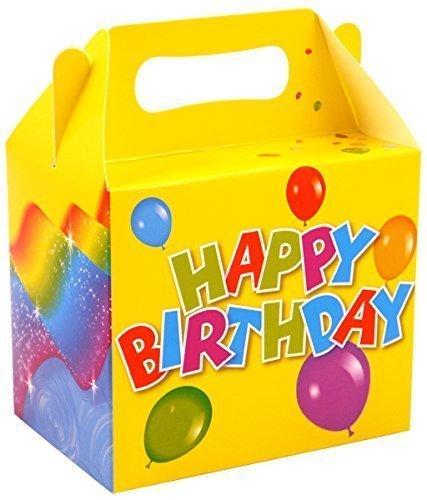 12 cajas de comida para fiestas de cumpleaños