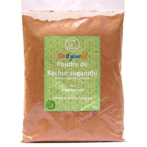 BALLA - Ayurvedisches Pulver aus Kachur Sugandhi 100g, organisch und natürlich