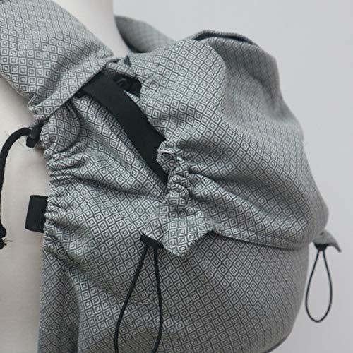Neko Switch Grey Diamond - Mochila portabebés