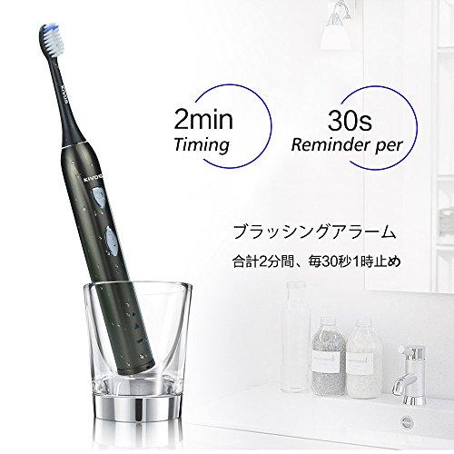 KIVOS『充電式超音波歯ブラシ』