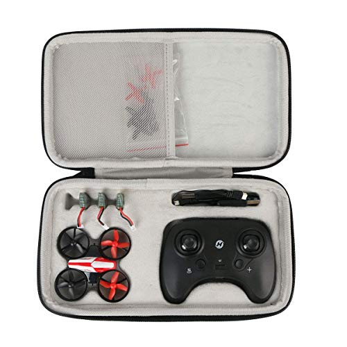 Khanka Hard Travel Case Replacement for Holy Stone HS210 Mini Drone RC Nano Quadcopter Best Drone