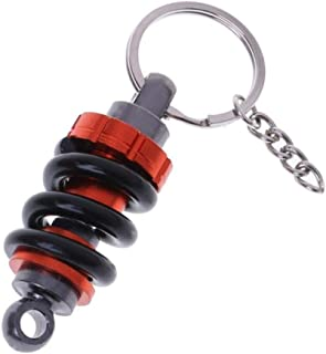 Catena Chiave dellautomobile Auto Tuning Parts Ammortizzatore Portachiavi di Keychain Molla dellammortizzatore Lanceasy Portachiavi Ammortizzatore