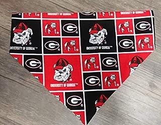 University of Georgia Bulldogs Dog bandana, slip on