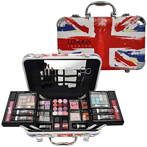 Gloss! Makeup Case - London Fashion, 1er Pack (1 x 62 Stück) Geschenk-Box - Make-up Kit