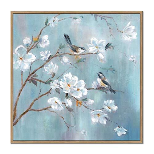 Canvas Bird Print