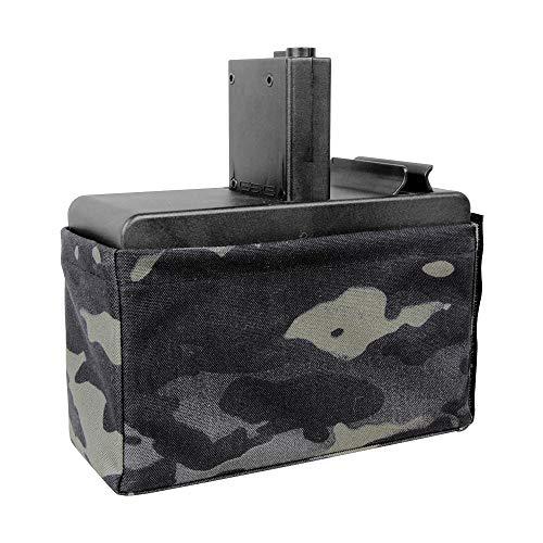 G&G - G&G G-08-173-3 CM16 LMG Box Magazine 2500R (Excl. Battery) MC Black