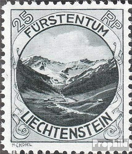 Prophila Collection Liechtenstein 98B 1930 Landschaften (Briefmarken für Sammler) Landschaften