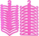 ZSWQ Perchas de Plástico Perchas de Ropa Accesorios Vestido Complementos como...