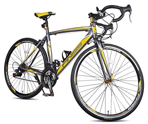 Merax Finiss Aluminum 21 Speed 700C Road Bike...