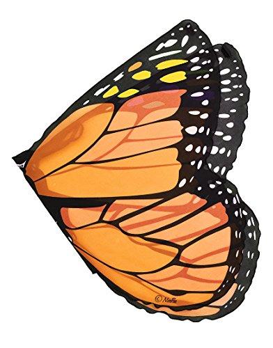 Dreamy Dress-Ups Orange Monarch Butterfly Wings