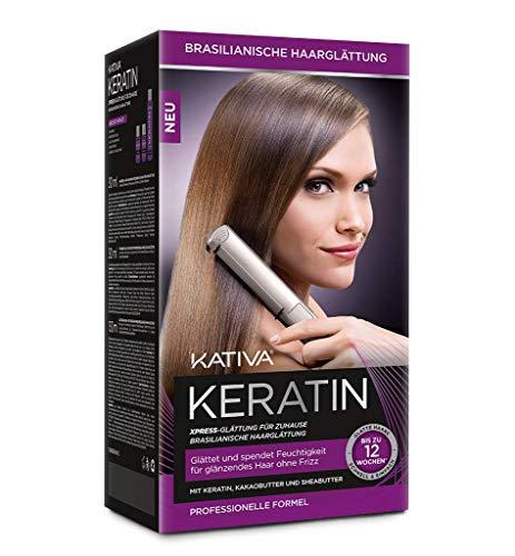 Kativa Haarglättung Keratin Xpress - black