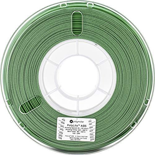 3Dプリンタ―用フィラメント PolyLite ABS 1.75mm径 1kg巻 (グリーン)
