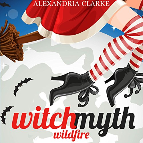 Witch Myth Wildfire audiobook cover art