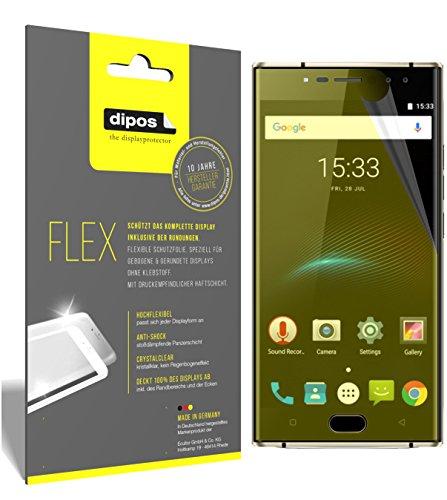 dipos I 3X Schutzfolie 100prozent kompatibel mit Oukitel K3 Folie (Vollständige Bildschirmabdeckung) Bildschirmschutzfolie