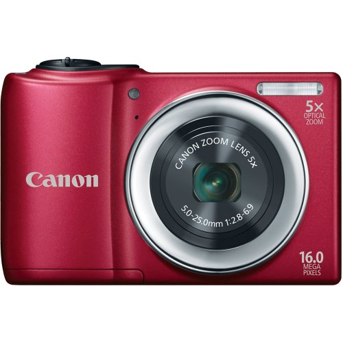 Best Prices! Canon PowerShot A810 16.0 MP Digital Camera with 5x Digital Image Stabilized Zoom 28mm ...
