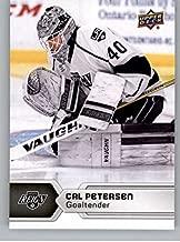 2017-18 Upper Deck AHL #33 Cal Petersen Ontario Reign