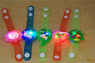 JSPOYOU Light Flash Toys Wrist Hand Take Dance Party Dinner Party