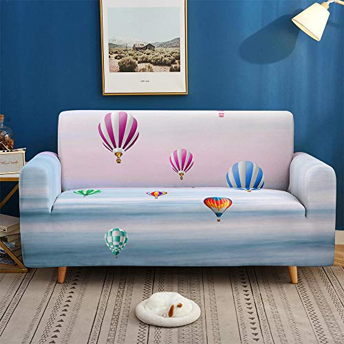 HXTSWGS Funda Protectora Antideslizante,City Night Scene 3D Sofa Cover, Elastic Stretch Sofa Cover, 1/2/3/4 Seater Sof Slipcover, Couch Covers for Livingroom-BDW48_4-Seater 235-300cm