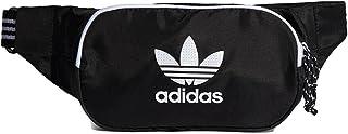 adidas AC WAISTBAG Sports Pouch, Unisex-Adult, Black/White, estándar