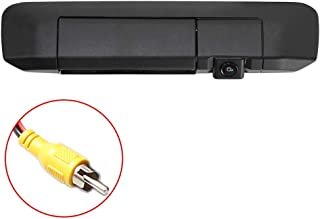 EWAY Tailgate Handle Backup Camera for Toyota Tacoma (2005-2014) for Universal Monitors (RCA) Reverse Night Vision Waterproof Reversing Car Safety Rear View Backing Parking Cameras Black