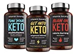 Keto Essentials Bundle - Get into Keto, Tune Your Keto & Burn on Keto - Vitamin Bounty